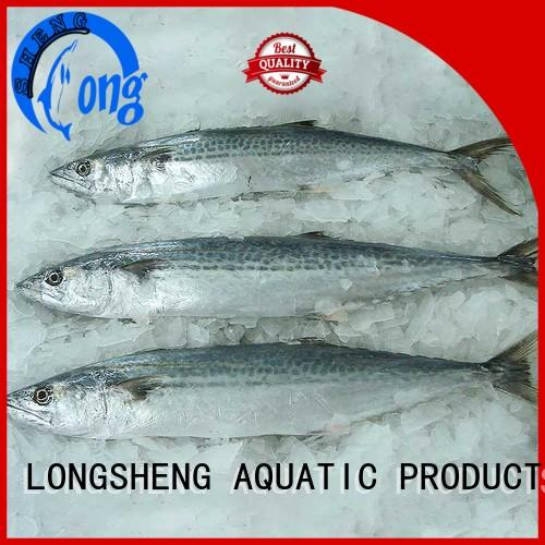 LongSheng sale frozen spanish mackerel for sale Suppliers for seafood shop
