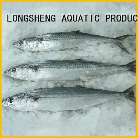 LongSheng whole frozen fish spanish mackerel Supply for seafood market