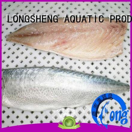 LongSheng fishfrozen frozen pacific mackerel for sale for restaurant