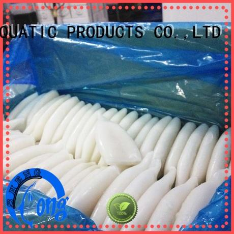 clean frozen squid illex delivery for cafe LongSheng