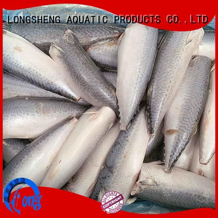 LongSheng tasty frozen mackerel fish for sale