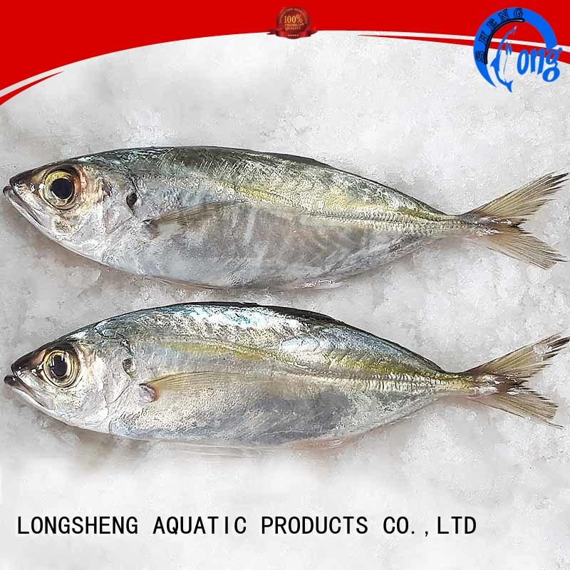 LongSheng mackerel frozen fish horse mackerel company for hotel