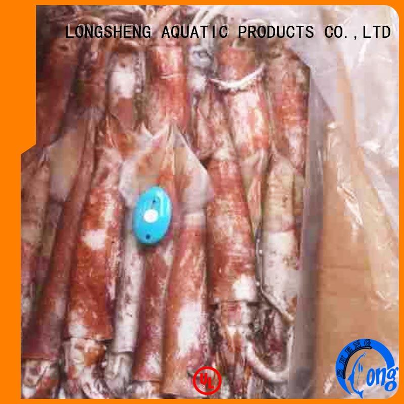 LongSheng illex frozen squid for sale factory for cafeteria