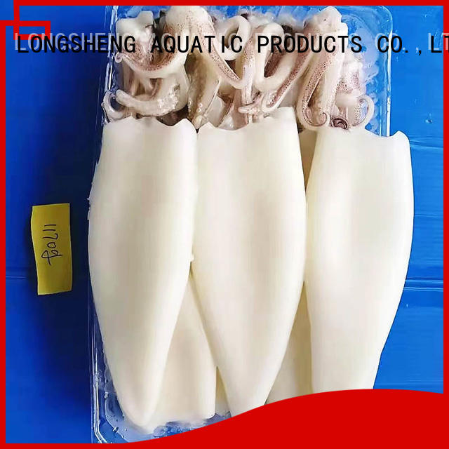 LongSheng tt frozen squid tubes manufacturers for cafe