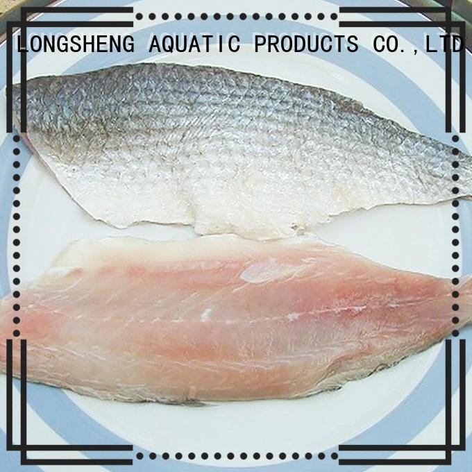 LongSheng fillet frozen seafood supplier factory for hotel