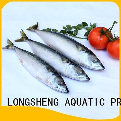 LongSheng Best frozen mackerel fish company