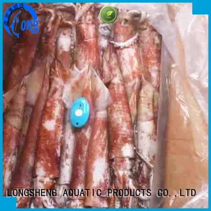 High-quality frozen uncleaned squid rings Supply for restaurant