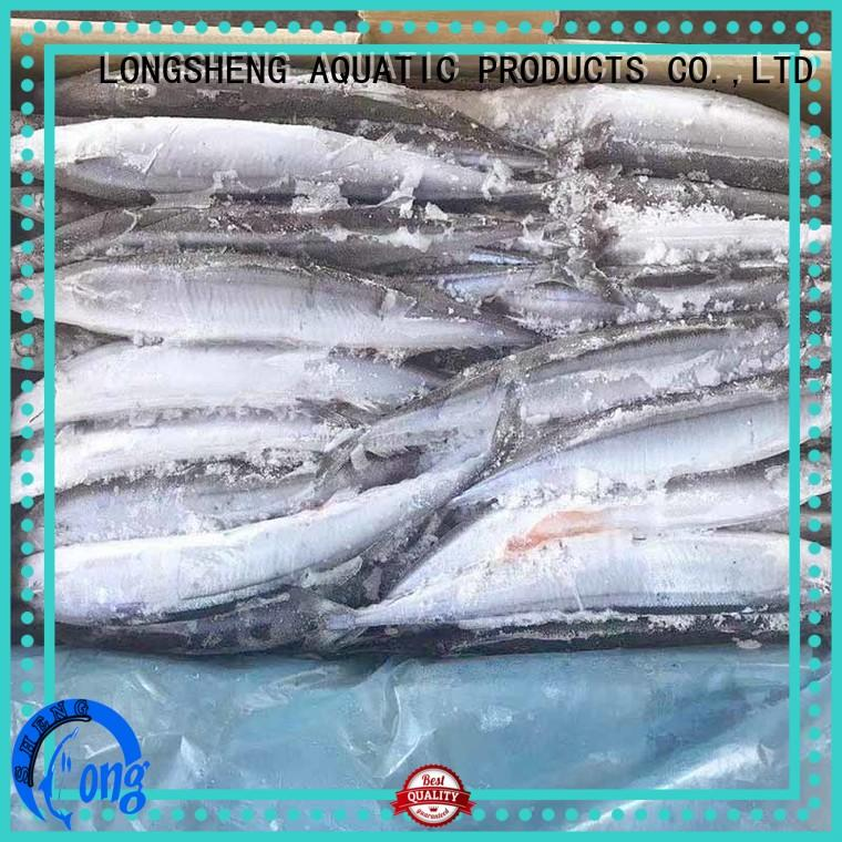 LongSheng saira frozen fish prices Suppliers for cafe