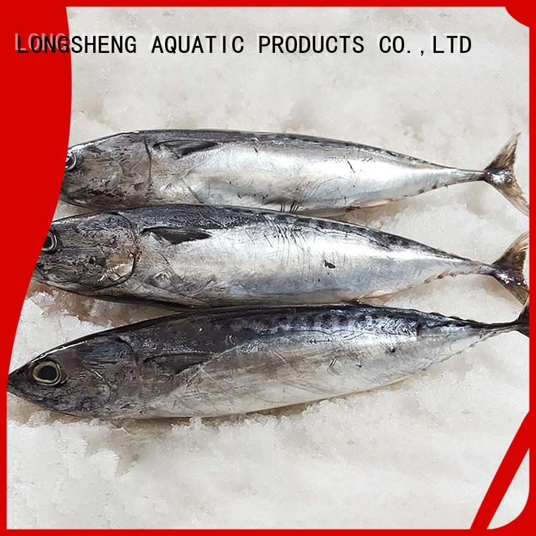 LongSheng whole frozen bonito fish price for seafood shop