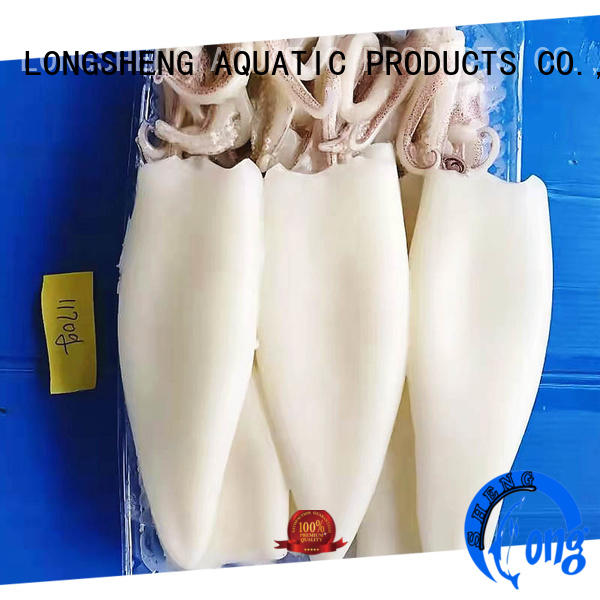 LongSheng loligo frozen cuttle fish Suppliers for cafeteria