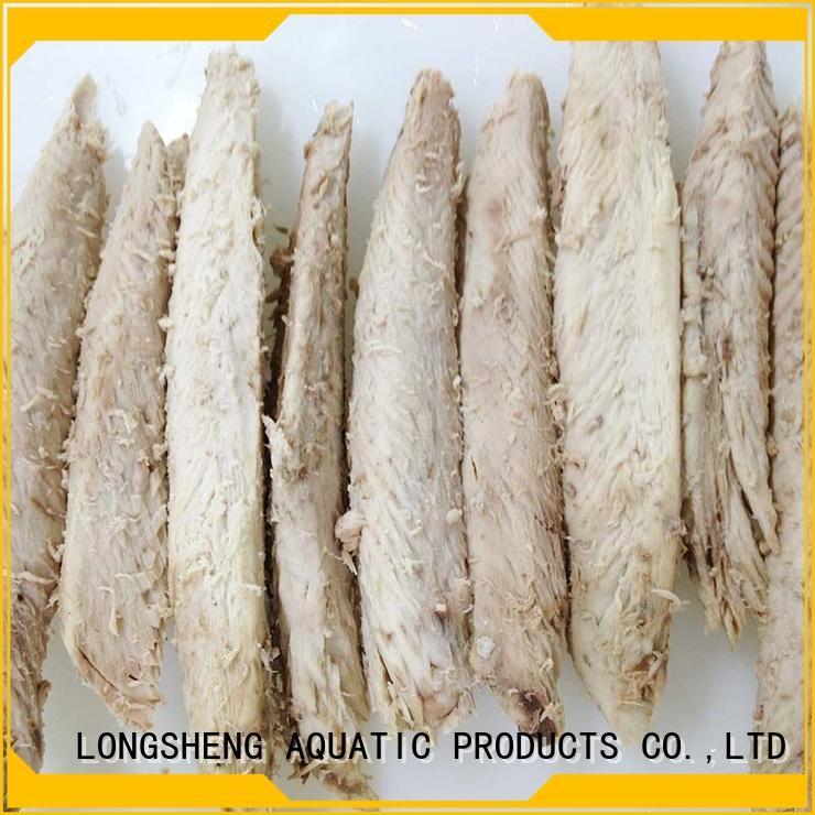 LongSheng Best frozen tuna loin factory for dinner party