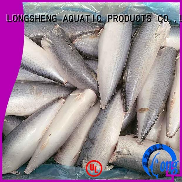 LongSheng whole frozen mackerel for market