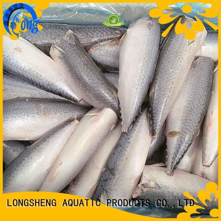 LongSheng best frozen whole mackerel for supermarket