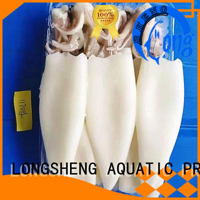 natural frozen cuttle fish whole round on sale for cafeteria LongSheng