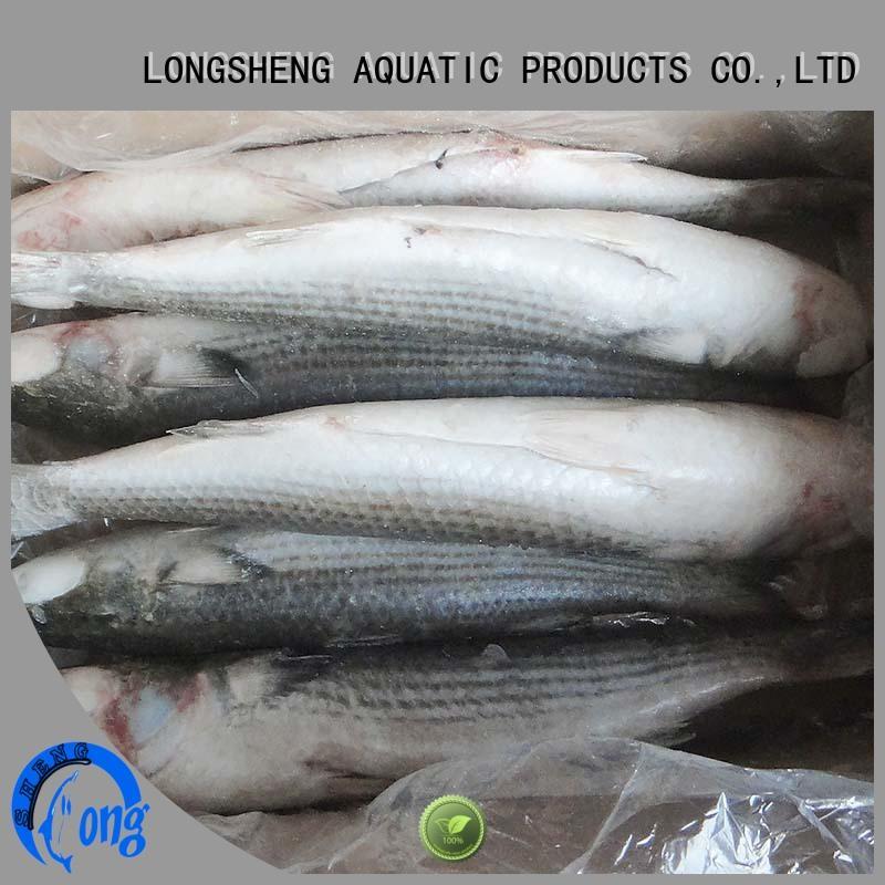 grey mullet price frozen for restaurant LongSheng