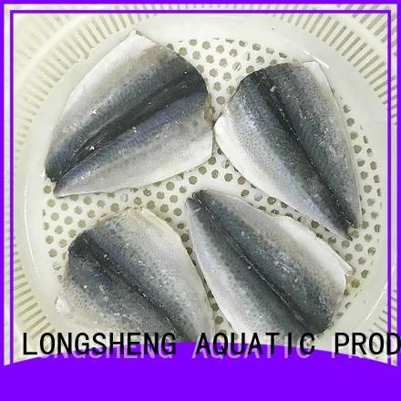 LongSheng frozen mackerel fillets suppliers company for supermarket