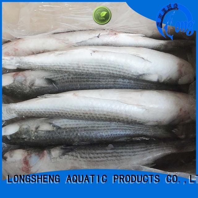 LongSheng gutted frozen mullet fish Supply for restaurant