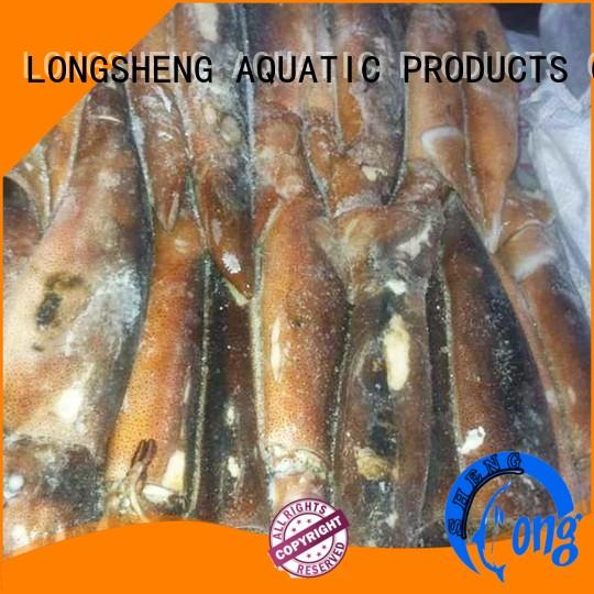 LongSheng chinese frozen whole squid manufacturer for cafe