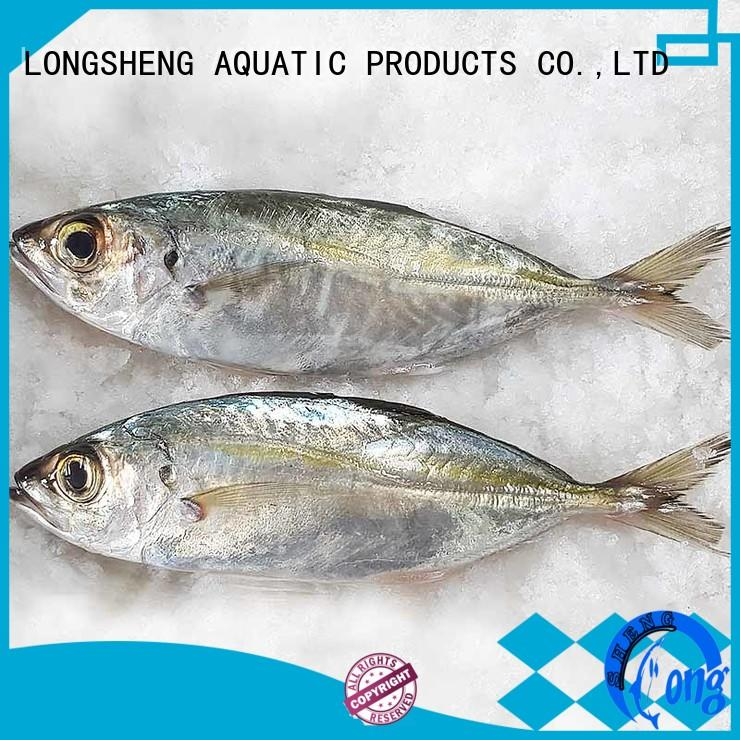 LongSheng natural frozen whole round horse mackerel mackerel for cafe