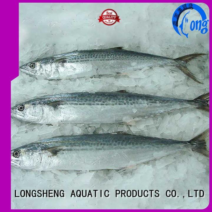 LongSheng technical frozen spanish mackerel series for seafood shop