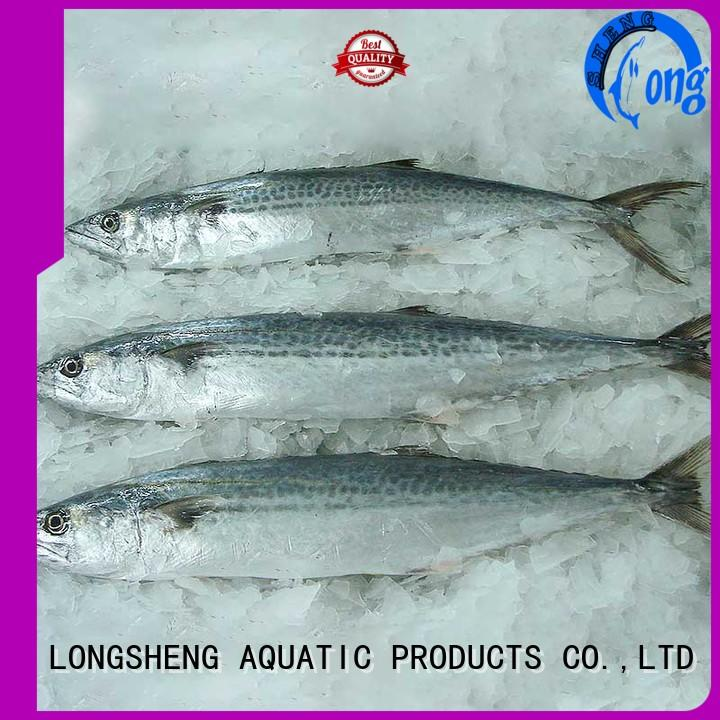 LongSheng technical frozen spanish mackerel series for seafood shop