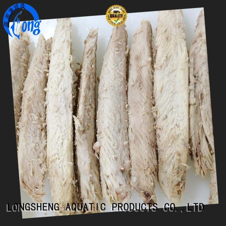 LongSheng healthy frozen seafood industry loinsbonito for party