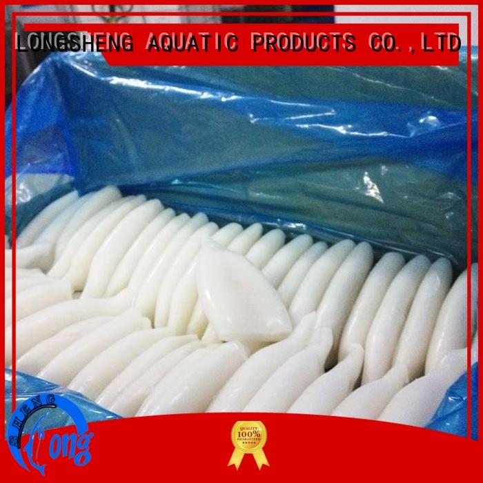 LongSheng New squid sale factory for restaurant