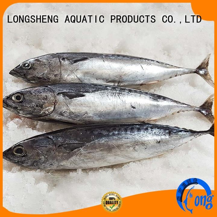 LongSheng hgt bonito fish price factory for supermarket