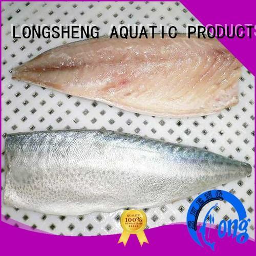 LongSheng tasty frozen pacific mackerel for sale for hotel
