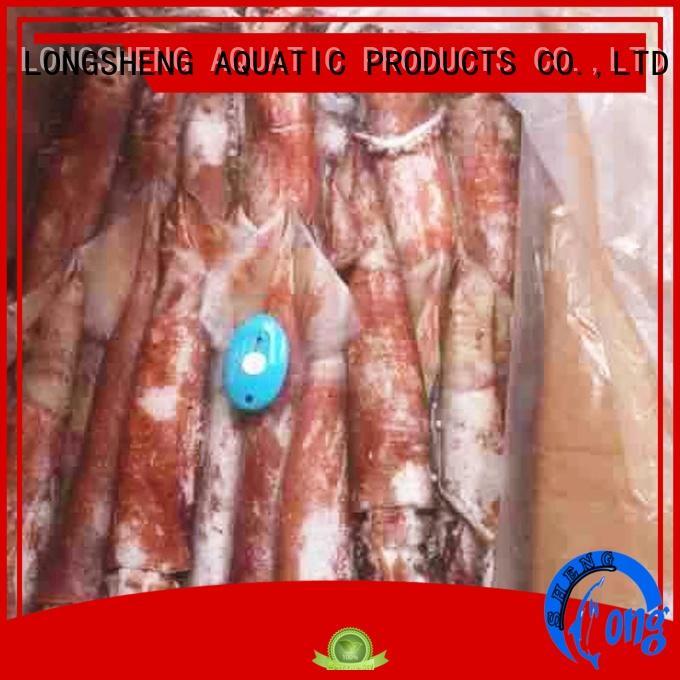 LongSheng loligo frozen squid suppliers for hotel