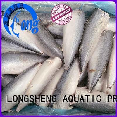 LongSheng flaps frozen mackerel fish price for business for restaurant