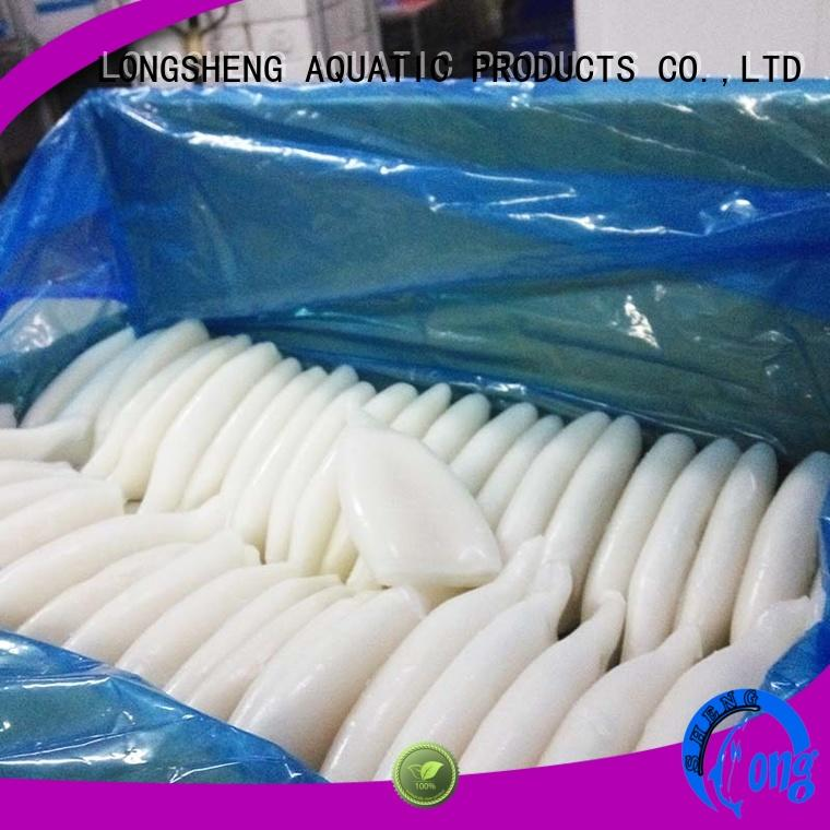 tt frozen whole uncleaned squid for sale manufacturer for cafe LongSheng