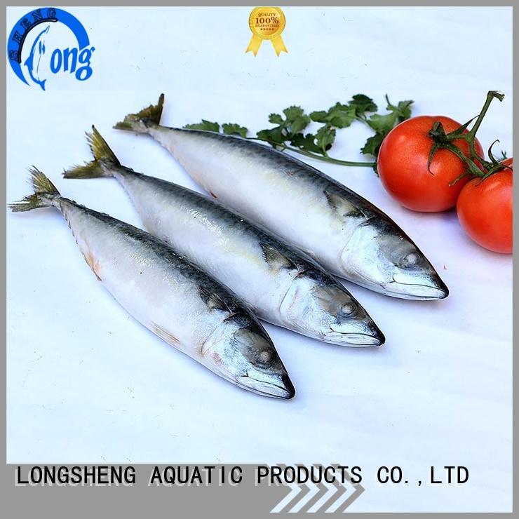 LongSheng professional pacific mackerel wr fillet