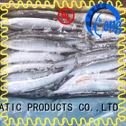 LongSheng New Frozen Pacific Saury Suppliers Suppliers for restaurant