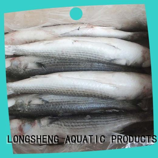 LongSheng frozen frozen at sea fish suppliers for business for supermarket