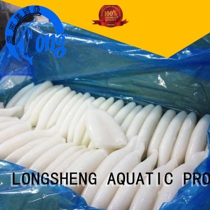 LongSheng healthy frozen whole squid online for hotel