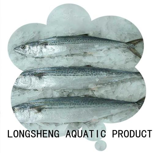 LongSheng roundfrozen frozen spanish mackerel fillets manufacturers for seafood market