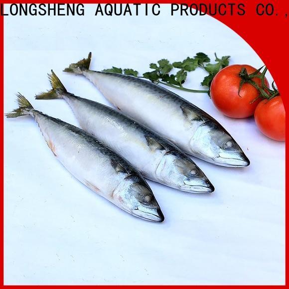 LongSheng flaps frozen pacific mackerel for supermarket