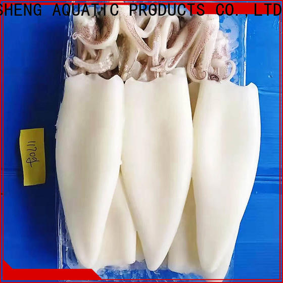 LongSheng wholesale frozen illex squid whole round factory for hotel