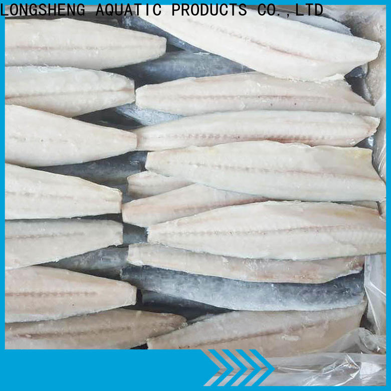 LongSheng whole spanish mackerel fish price company for seafood market