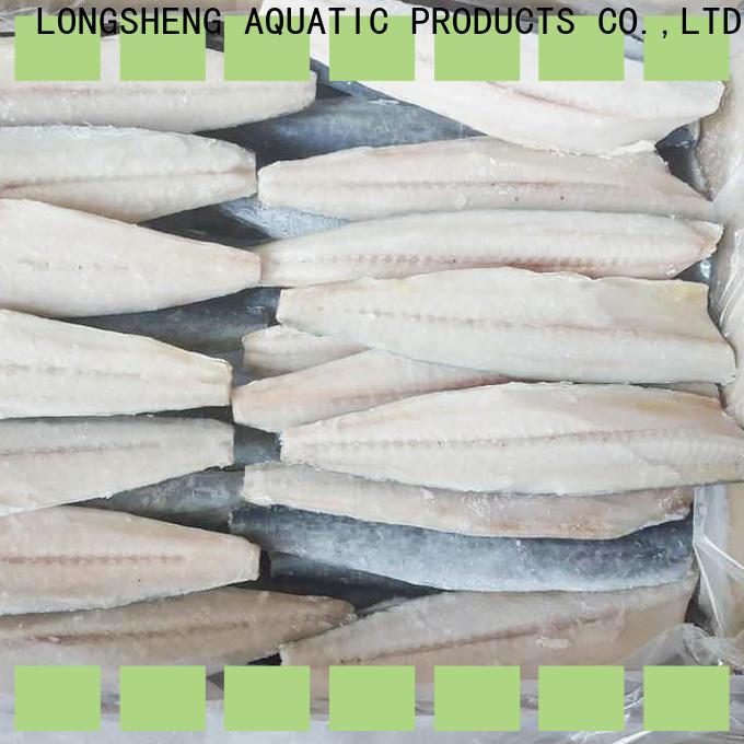 LongSheng bulk purchase frozen spanish mackerel Suppliers for seafood shop