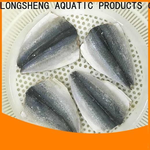 LongSheng round frozen pacific mackerel fish