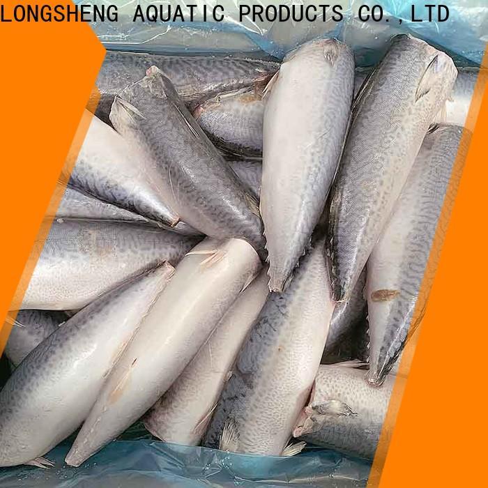 LongSheng fishfrozen frozen mackerel flaps Suppliers for supermarket