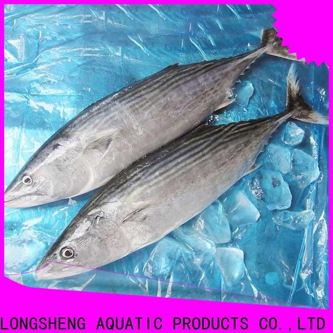 LongSheng skinless frozen bonito tuna price company for party