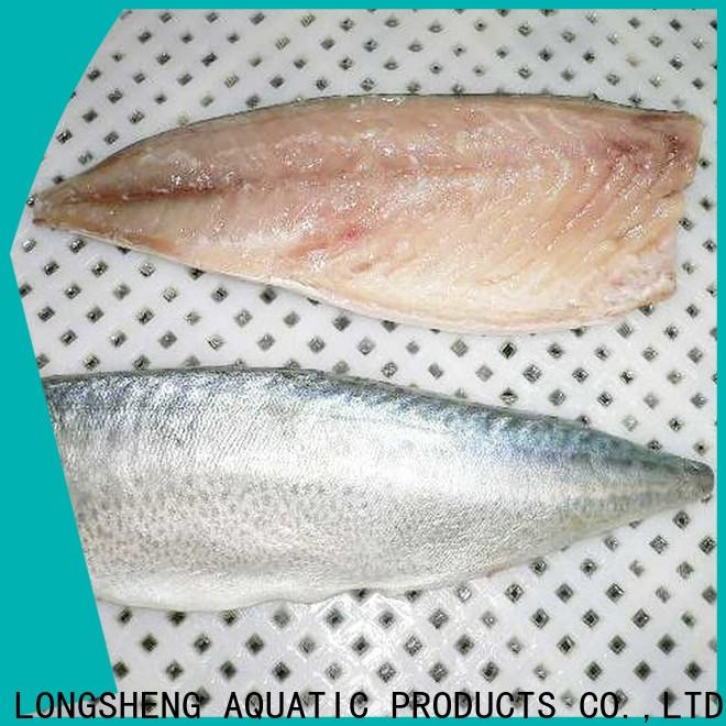 LongSheng fillet frozen mackerel fillet factory for supermarket