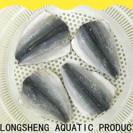 LongSheng tasty fish frozen mackerel factory for hotel