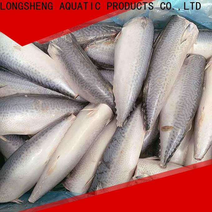 LongSheng fillet frozen mackerel prices