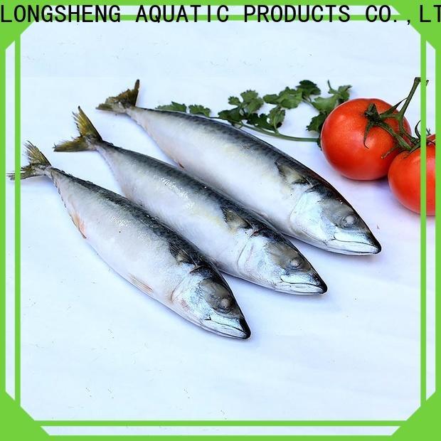 LongSheng tasty pacific mackerel wr for supermarket