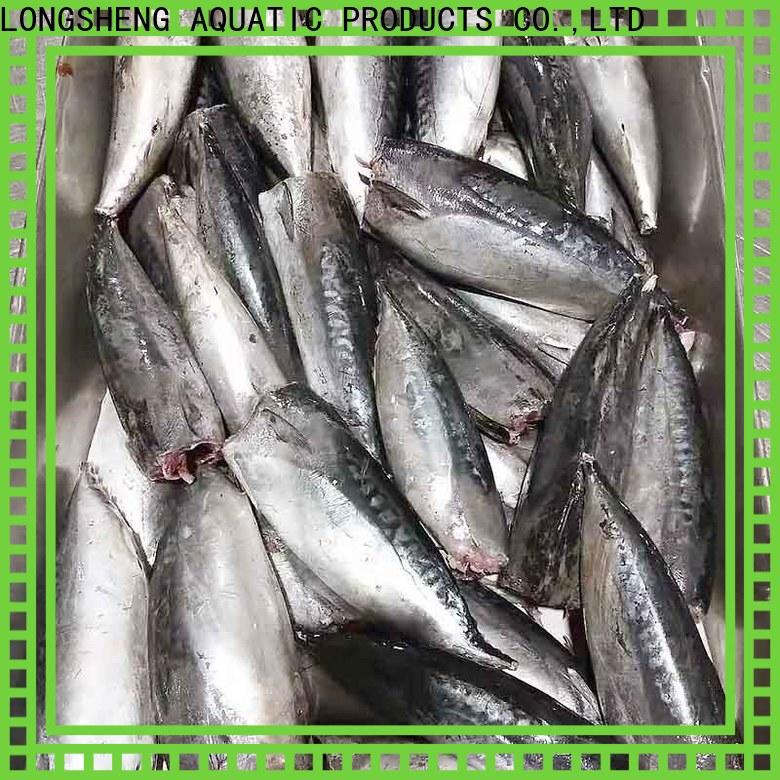 LongSheng fish frozen bonito fish company for market
