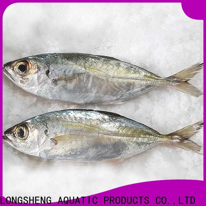 LongSheng round frozen horse mackerel prices company for hotel